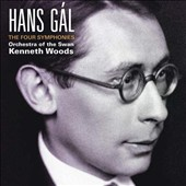 Hans Gál: The Four Symphonies / Orchestra of the Swan; Woods