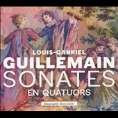 Louis-Gabriel Guillemain (1705-1770): Sonatas for flute, harpsichord & strings / Ensemble Barockin'