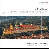 Works for brass by Bernstein, Bizet, James Morrison, Prokofiev and Wagner;