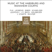Music at the Habsburg and Mannheim Courts - Works by J.C. Bach; Holzbauer, Stamitz, Richter, Schmelzer, Biber, Fuz, & more / Nikolaus Harnoncourt, Concentus Musicus Wien [4 CDs]
