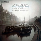 Works for Violin & Piano by Faure, Debussy, Ravel;