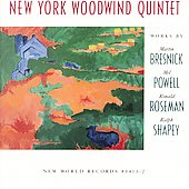 New York Woodwind Quintet - Works by Bresnick, Powell, etc