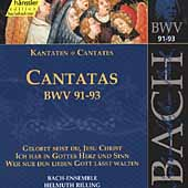 Edition Bachakademie Vol 29 - Cantatas BWV 91-93 / Rilling