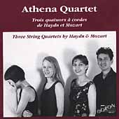 Haydn, Mozart: String Quartets / Athena Quartet