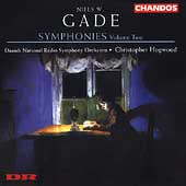 Gade: Symphonies Vol 2 / Hogwood, Danish National RSO