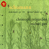 Red Seal - Schumann: Lieder / Pr&#233;gardien, Gees