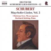 Deutsche Schubert-Lied-Edition 12 - Mayrhofer-Lieder Vol 2