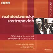 Rozhdestvensky, Rostropovich - Tchaikovsky, Shostakovich