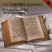 Ars Gregoriana: Supplementum X
