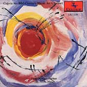 Capriccio - Mid-Century Music for Clarinet by Poulenc, Bernstein, Hindemith, Lutoslawski / David Howard, clarinet; Zita Carno, piano
