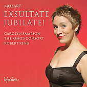 Mozart: Exultate Jubilate / King, Sampson, King's Consort
