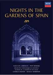 De Falla: Nights In The Gardens Of Spain / DeLarrocha, Romero, Dutoit /  [DVD]