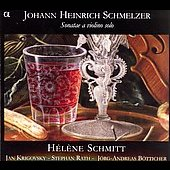 Schmelzer: Sonatae a violino solo / Schmitt, et al
