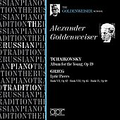 The Russian Piano Tradition - Alexander Goldenweiser