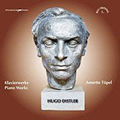 Distler: Piano Works / Annette Töpel