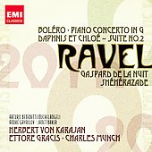 20th Century Classics - Ravel: Boléro, Piano Concerto in G, etc / Michelangeli, Baker, Gavrilov, etc