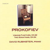 Prokofiev: Visions fugitives; Two Sonatinas