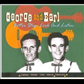 Earl Aycock/George & Earl/George W. McCormick: Better Stop, Look and Listen: Gonna Shake This Shack Tonight [Digipak]