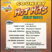 Karaoke: Chartbuster Karaoke: Hot Hits Country, July 2011