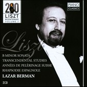 Liszt Bicentary Edition, Vol. 7: Sonata in B minor; Transcendental Studies / Lazar Berman, piano