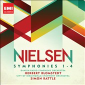 Nielson: Symphonies 1-4 / Herbert Blomstedt; Simon Rattle