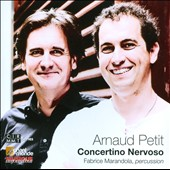 Armaud Petit (b.1959): Concertino Nervoso / Duo Akrostick Percussion Ens., Julienne Klein, soprano