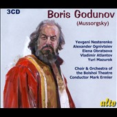 Modest Mussorgsky: Boris Godunov / Nesterenko, Ognivtsiev, Obratsova, Atlantov, Mazurok