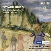 Edvard Grieg: Complete Symphonic Works, Vol. 3 / WDR SO Cologne, Aadland