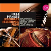 Great Pianists / Legendary Recordings from Arrau, Cherkassky, Cziffra, Gilels & Katchen