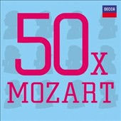 50 x Mozart - Highlights from Mozart's most popular works [3 CDs]