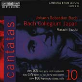 Bach: Cantatas Vol 10 / Suzuki, Bach Collegium Japan