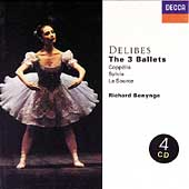 Delibes: The 3 Ballets / Richard Bonynge, et al