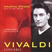 Vivaldi: Concerti / Steger, Fasolis, I Barocchisti