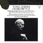 Toscanini Collection Vol 44 - Tchaikovsky / Horowitz