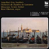Vivaldi, Marcello, et al: Oboe Works / Jean-Paul Goy, et al