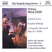 The English Song Series 1 - Walton / Lott, Hill, et al