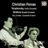 Tchaikovsky: Violin Concerto;  Brahms / Ferras, et al