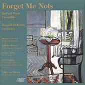 Forget Me Nots / The DePaul Wind Ensemble