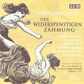 Goetz: Der Widerspenstigen Zahmung / Keilbert, Heger, et al