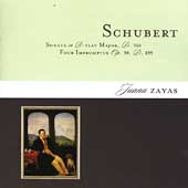 Schubert: Sonata D 960, Four Impromptus D 899 / Juana Zayas