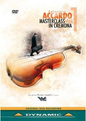 Salvatore Accardo: Masterclass in Cremona 2011, Vol. 1 - Includes performances of Sarasate & Beethoven / Lucia Luque, Laura Marzadori [DVD]