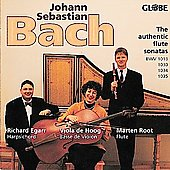 Bach: Authentic flute sonatas / Egaar, de Hoog, Root