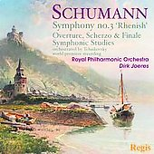Schumann: Symphony no 3, etc / Joeres, Royal PO