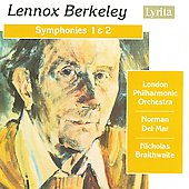 Berkeley: Symphonies no 1 & 2 / Del Mar, Braithwaite, London