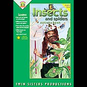 Twin Sisters: Insects & Spiders [Blister]