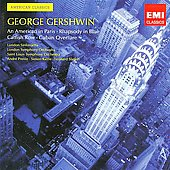 EMI American Classics - George Gershwin / André Previn, Sir Simon Rattle, Leonard Slatkin, London SO, St. Louis SO, et al