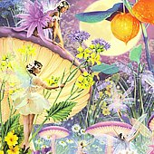 Llewellyn (New Age): Greeting Card: Faerie Music