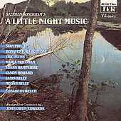 John Owen Edwards (Conductor): Little Night Music [1989 London Cast]