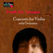Sprague: Concerto for Violin with orchestra