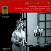 Mirella Freni: Live Recordings 1963-1965